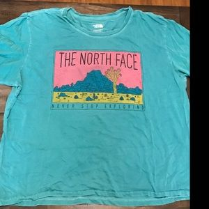 Vintage north face tee